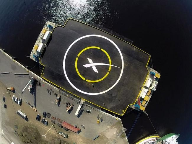 SpaceX To Test Reusable Rocket With Daring Drone Ship Landing Today