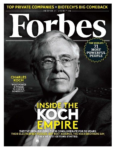 Inside The Koch Empire: How The Brothers Plan To Reshape America