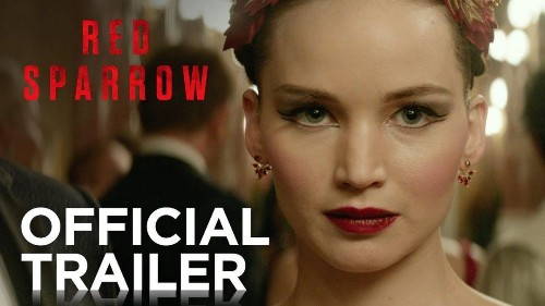 Jennifer Lawrence Cosplays As Black Widow In 'Red Sparrow' Trailer