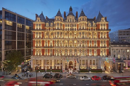 London Earns More Five-Star Hotels Than Any City