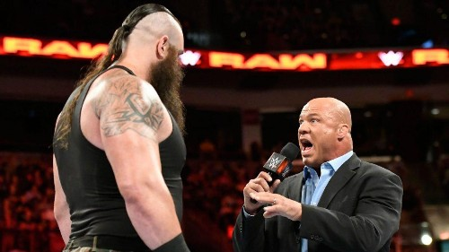 WWE TLC 2018 Results: Kurt Angle, Raw Roster Destroy Baron Corbin As Injured Braun Strowman Prevails