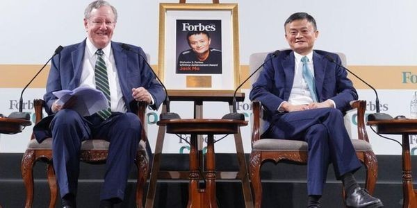 Jack Ma In Conversation With Steve Forbes: Alibaba Founder Talks Tech, Business And Philanthropy