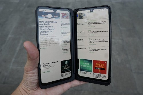 LG's G8X Dual Screen Is An Improved, More Practical Version Of The Foldable Phone