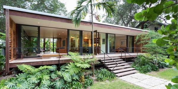 The Brillhart House, Miami's Exotic Marvel, Hits Market For $2 Million