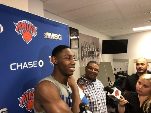 R.J. Barrett Says He's Excited About The Knicks Even If Kevin Durant, Kyrie Irving Don't Come