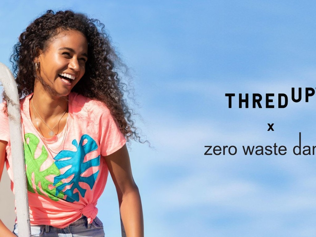 ThredUP Launches Collection With Zero Waste Dan