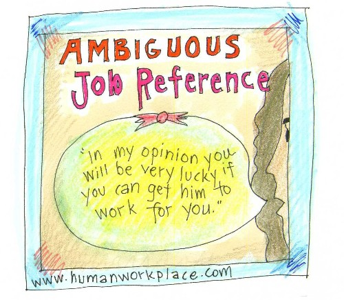 The Truth About Job References