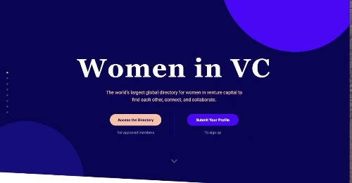 A Global Directory Aims To Connect Women In Venture Capital