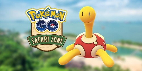 'Pokémon GO' Safari Zone: How To Get Yourself A Shiny Shuckle