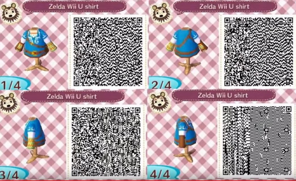 Here Are 500 'Animal Crossing' QR Codes For Clothing And Decorations