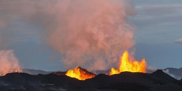 Magma Ascends From Deep In Earth's Crust To Icelandic Volcano In Just 10 Days