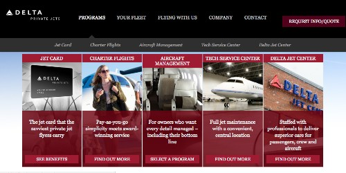 Delta Will Allow You To Use Miles To Fly By Private Jet