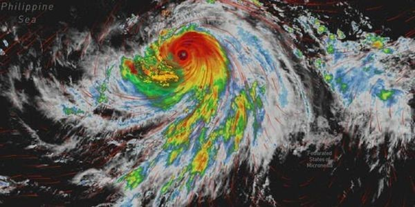 The Century's Strongest Super-Typhoon Hagibis Is About To Hit Japan—1,600 Flights Canceled