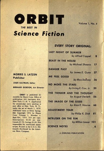 Michael Dirda: A Science Fiction Reading List
