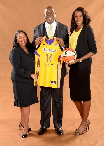 Magic Johnson Buys LA Sparks, Invests In WNBA's Future