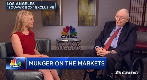 "Berkshire Hathaway's Charlie Munger Says U.S. In ""Uncharted Territory"" On $22 Trillion National Debt"