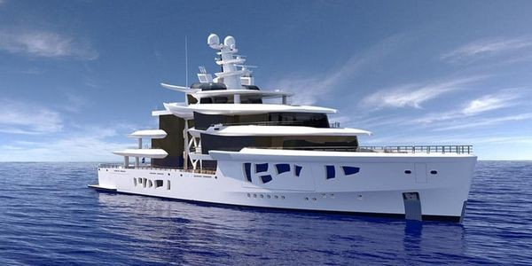 262-Foot-Long Megayacht ARTEFACT Combines Disruptive Technology, Distinctive Design, And Environmental Consciousness
