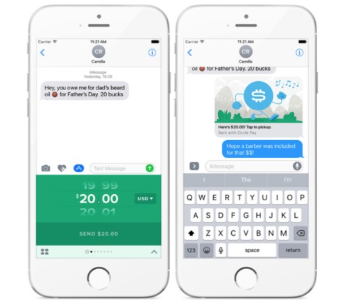 You Can Now Send A Payment To Anyone In The World Via iMessage