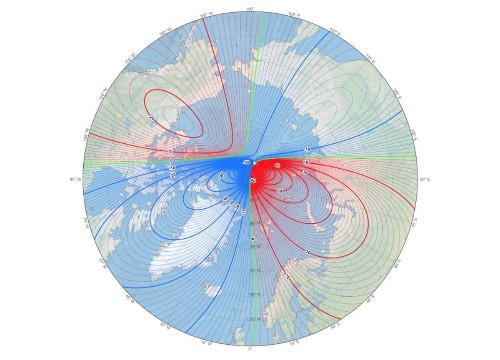 Earth's Magnetic North Pole Has Officially Moved (Toward Russia)