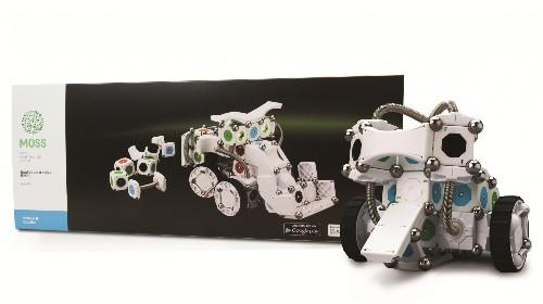 Gadgets We Love: Modular Robotics MOSS Exofabulatronixx 5200 Kit