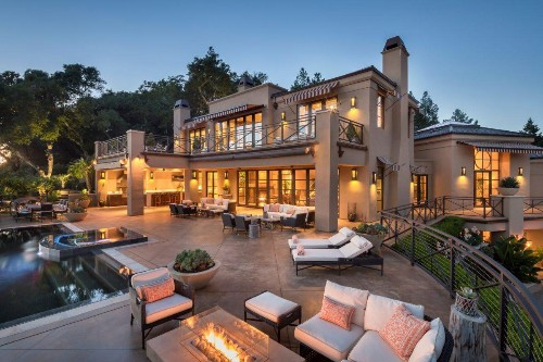 Napa Valley Estate With A Resort Feel Comes With Guest Houses, Catering Kitchen, Pool
