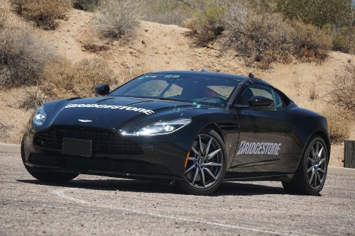 First Ride In The New Aston-Martin DB11