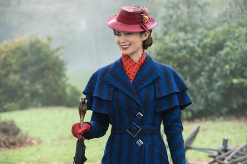 'Mary Poppins Returns' Costume Designer Talks Dressing The Cast In Bathing Suits And Pants