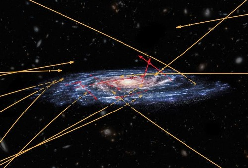 Close Encounter With A Black Hole Exiles A Star From Our Galaxy