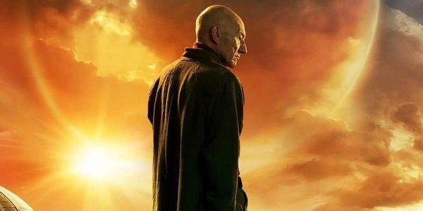The First Poster For 'Star Trek: Picard' Features The Captain's Adorable New Dog