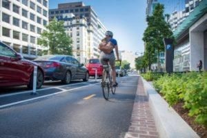 Some Bike Lanes Protect Cyclists Better Than Others