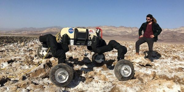 NASA's Robots Now Includes An 'Ice Worm', 'Moon Geckos' And An 'Ape That Moves Like A Penguin'