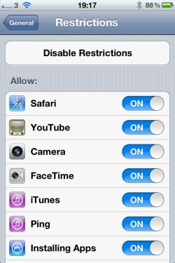 Child-Safe Browsing On The iPhone and iPad, And How To Hide The Safari Browser On iOS Devices