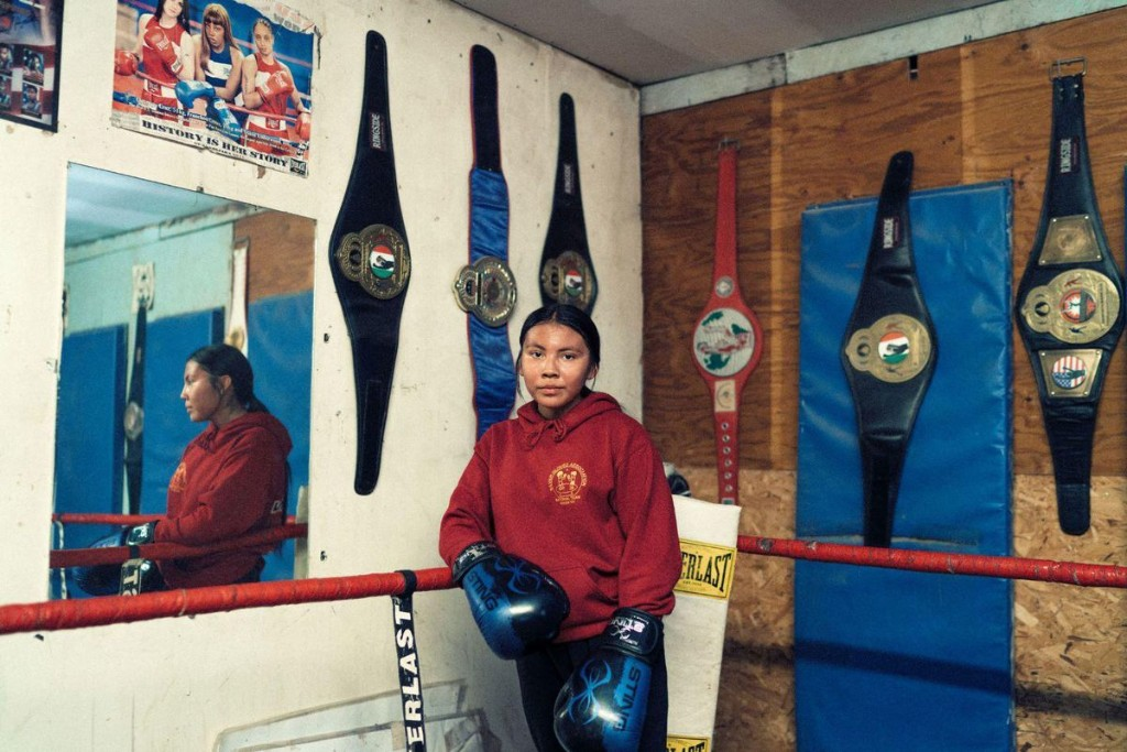 Meet Mariah Bahe, The 16-Year-Old Fighting To Become A Prominent Native American Olympic Boxer