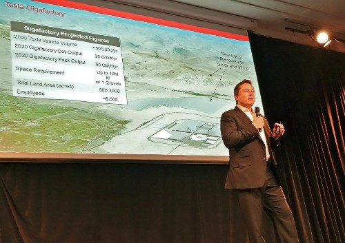 What's Behind Tesla's Demand For $500 Million In Gigafactory Incentives