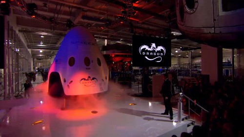 SpaceX Unveils Its New Dragon Spacecraft