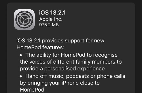 Apple Releases iOS 13.2.1: Surprise Update In Record Time, But It's Not For Everyone