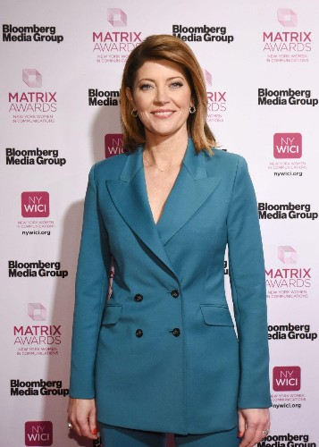 Norah O'Donnell Shares Career Advice At The Matrix Awards: 'Find Yourself A Gayle'