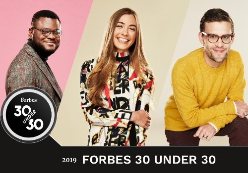 Forbes Releases 2019 Edition of the 30 Under 30 List