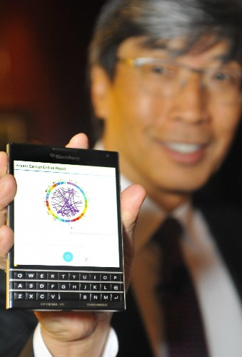 Viewing A Genome On A Blackberry Phone