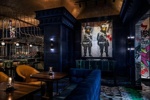 Las Vegas's First Banksy Will Make Its Debut At This New Restaurant