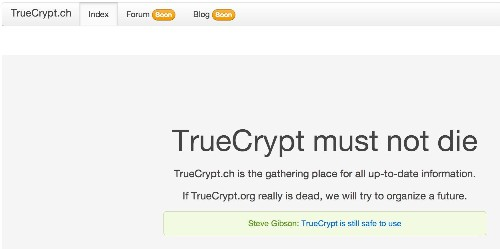TrueCrypt Is Back, But Should It Be?