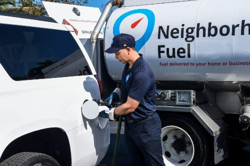 Gas Without The Station: This 1400-Gallon Pump On Wheels Comes To You
