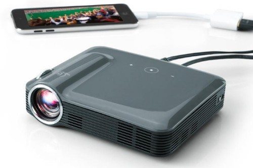 Brookstone Pocket Projector Pro Review