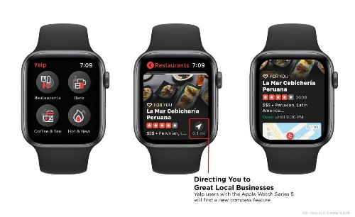 Apple Watch Series 5 Gains 1st Super-Useful Function For Its Compass