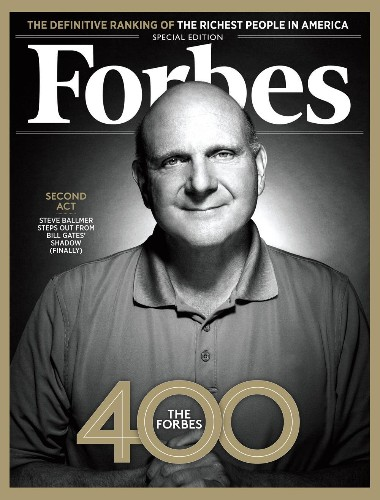 Gone From Microsoft, Ballmer Begins A Surprising Second Act
