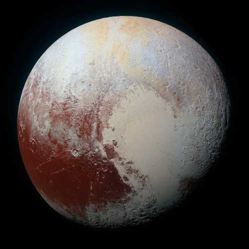 Pluto's Color Variations Finally Make Sense: Explained By Methane Ice In The Sunlight