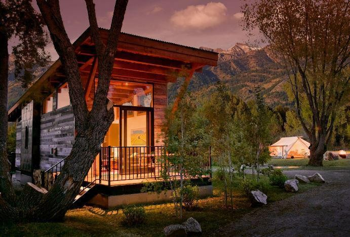 Tiny House Test Drive: Jackson Hole Resort Lets You Take Vacation Homes For A Spin