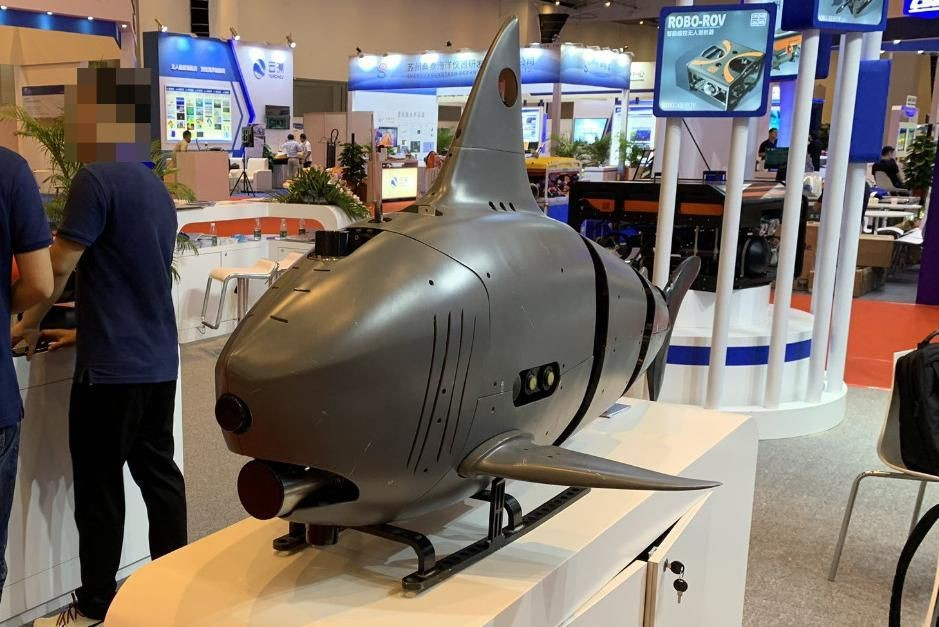 Changing Face Of Drone Warfare: Robot Sharks