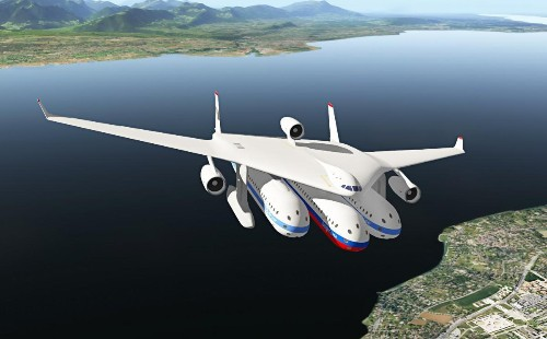 This Intriguing Aircraft Concept Aims to Eliminate Airport Lines and Terminals
