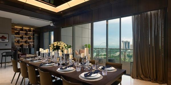 Listed For $34 Million, This 'Super' Penthouse In Singapore Comes With A Rare Blue Diamond